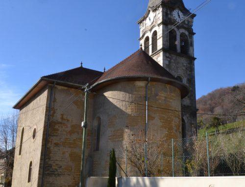 Pisé circulaire pour l'Eglise de St Aupre
